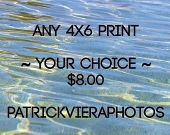 CHOOSE ANY 4X6 Print by PatrickVieiraPhotos