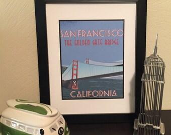 San Francisco Golden Gate Print