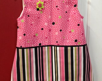 Pink dress girls size 3T