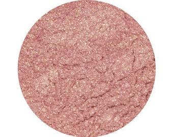 "BURLESQUE- Eye Shadow - ""Pink with golden copper undertones"" - Mineral Eye Shadow - Organic, Vegan, Cruelty-Free Eye Shadow"