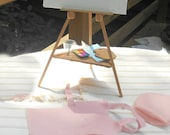 American Girl Doll Easel And Art Set