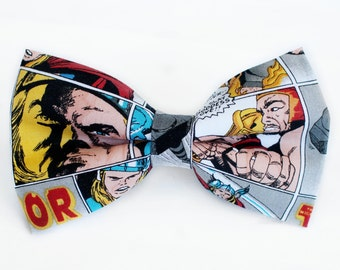 Thor Bow Tie | Dog Bow Tie | Boys Bow Tie | Mens Bow Tie | Gifts for Him | Marvel | Avengers