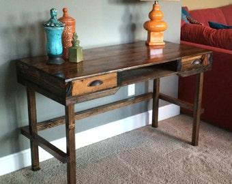 desk, Pallet,  wood, reclaimed, cedar