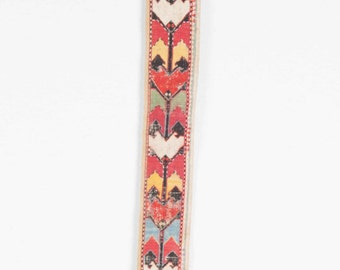 Vintage Uzbek Lakai dress collar in cross stitch technique , Ships free with ıps