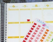 Tea Cup Life Planner Die-Cut Stickers!! Set of 242 Perfect for Erin Condren, Limelife, Mambi and Plum Paper Planners!!! F.D22
