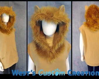 Lion Hoodie*Custom Colors Available!*