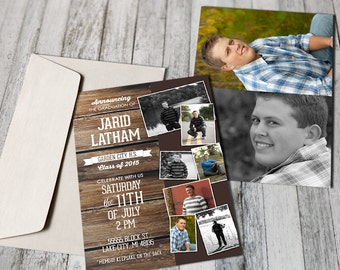 Custom Graduation Announcement (Printable)