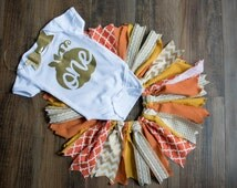 Fall first birthday outfit first birthday tutu fall birthday shirt vintage first birthday pumpkin shirt girl first birthday fall party