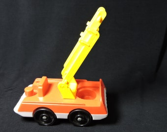 1970s Fisher Price Fire Engine Truck for Little People