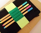 Journal Pen Holder, Pen Holder, Pen Bandolier, Elastic Band, Pen Loop For Planner, Planner Band, Moleskine Accessories, Back to school