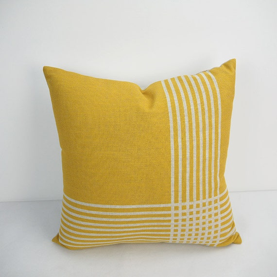 Unique Throw Pillow Covers 18x18 : Yellow Pillow cover 18x18 decorative Pillow Pillow by HomeDecorYi