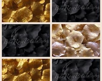 New Years Eve Blend Rose Petals - 1,000 Silk Rose Petals