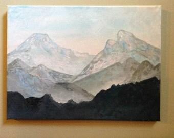 Calm Mountain Tops