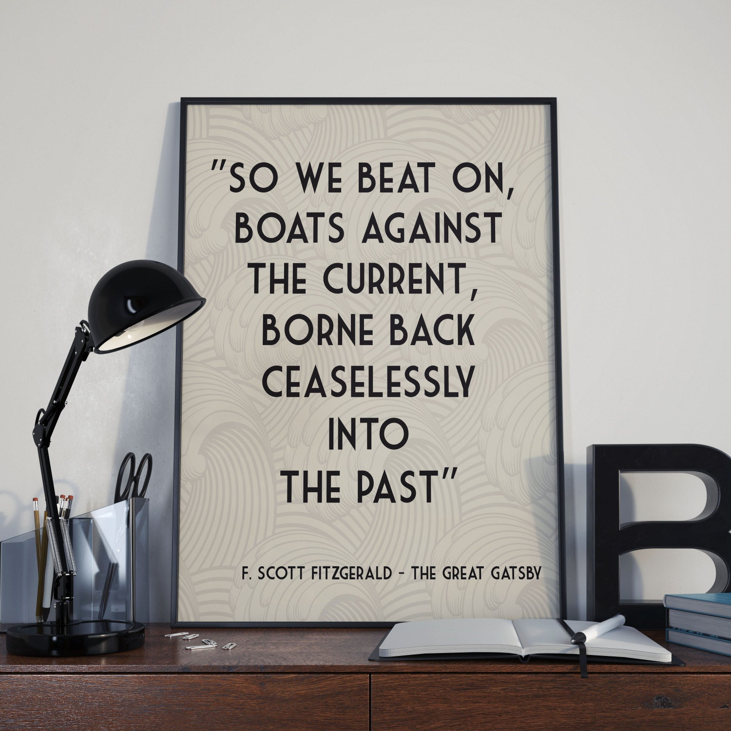 The Great Gatsby Printable Home Decor 8 X 10 Digital Art