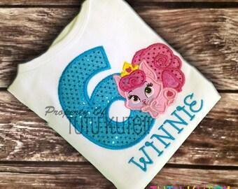 Aurora's Beauty-Dreamy Palace Pet Birthday Shirt FREE Personalization
