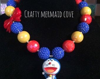 Doraemon necklace!!