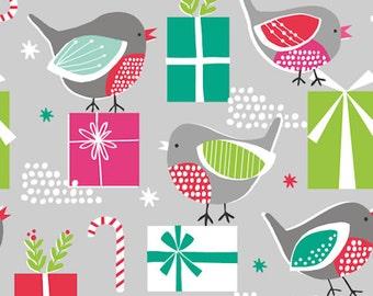 Christmas Themed Cotton Fabric, Patchwork Fabric - Fat Quarter