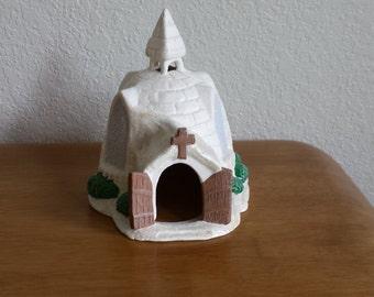Ceramic Igloo Church (#70)