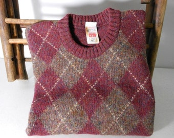 ST MICHAEL Sweater Pullover Shetland Wool 42