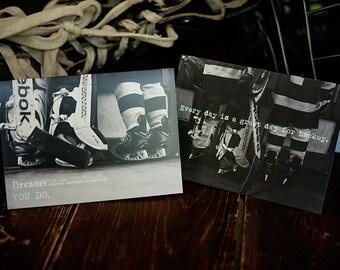 Hockey Greeting Card - Blank Inside - Fine Art Photography 2