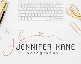 Rose Gold Logo - Photography Logo - Jennifer Kane  - PM006