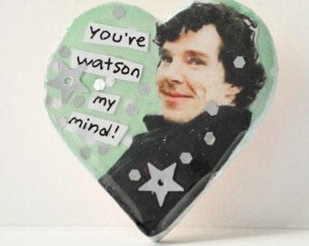 Sherlock Pin - You're Watson my Mind