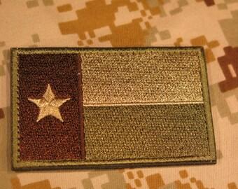 Texas Velcro Patch (P48)