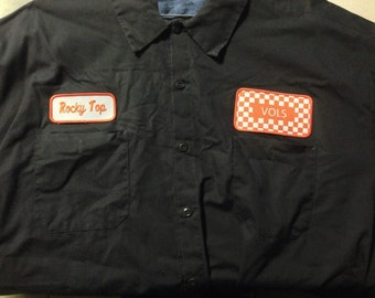 Custom Work Shirts Customized with your logo and matching name