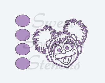 PYO Fairy Street Friend Cookie Stencil
