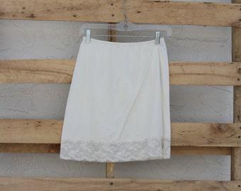 Vintage Mini Skirt Slip