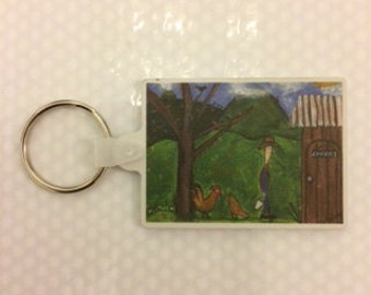 Celestines Art Keyrings