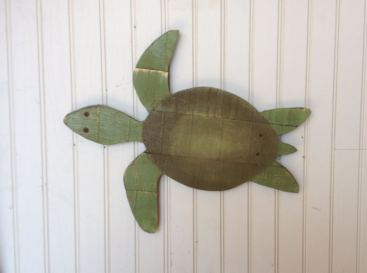 gorgeous wooden turtle wall art tree