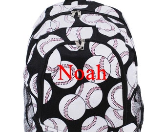 Monogram Backpack Baseball Backpack