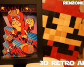 Donkey Kong - Series 3 Collection - Retro 3D Art 6 featured image