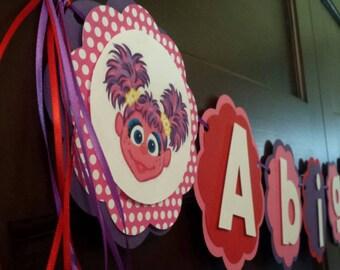 Abby Cadabby birthday banner