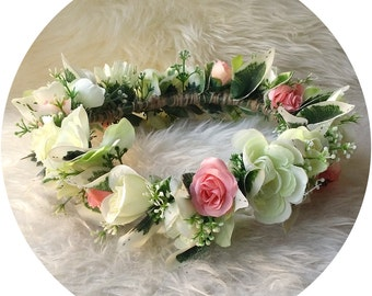 I love.. Marry Me Please Flower Crown