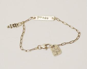 Free Shipping Sterling 7.5 Bracelet.