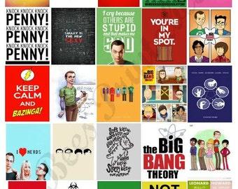 Printable Big Bang Theory Boxes for Planners