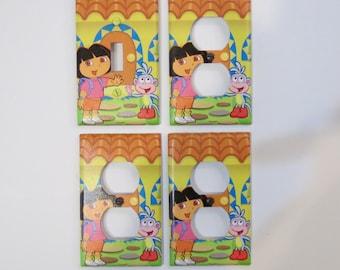 Dora the Explorer - Bedroom Light Switch Plate Set