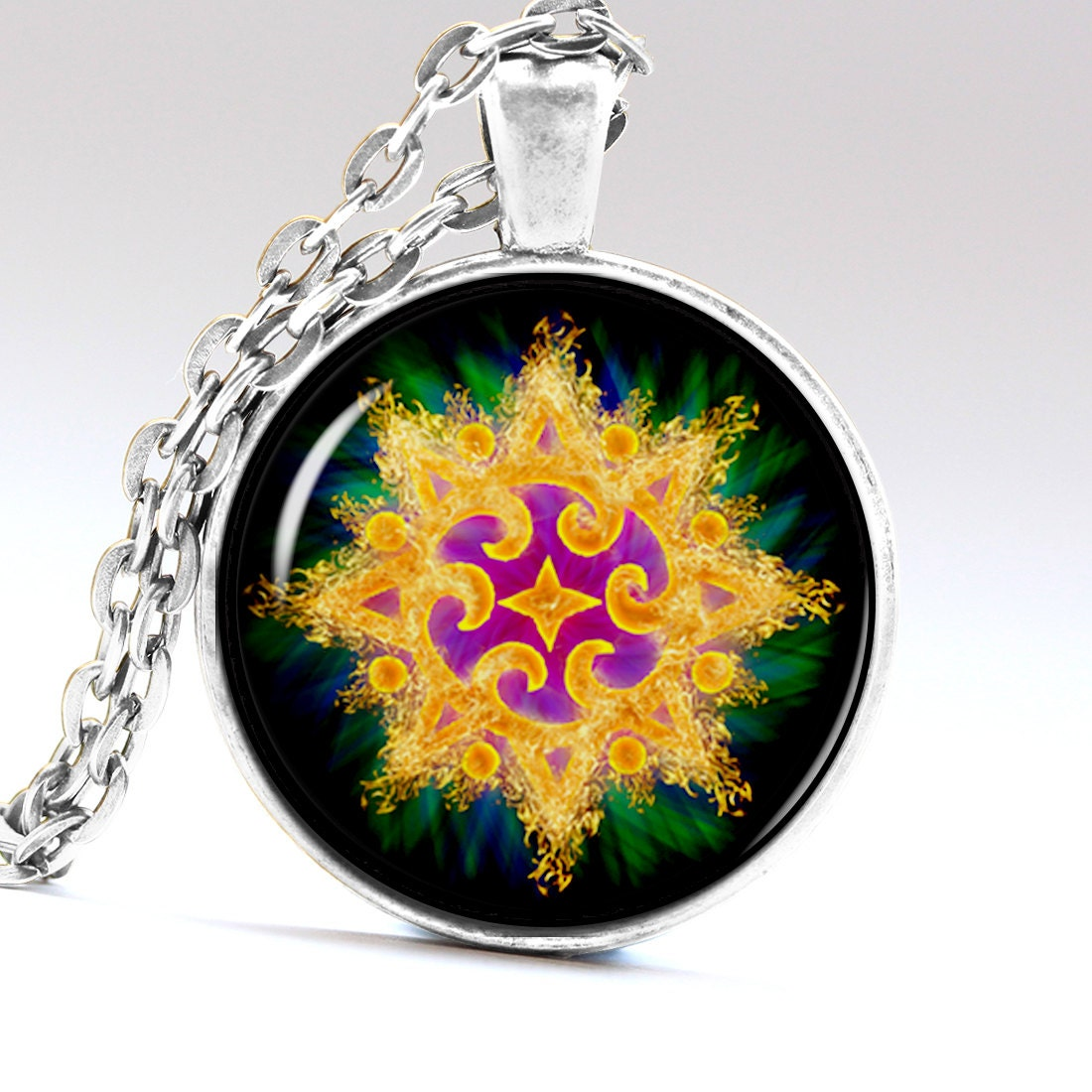 geometry necklace spiritual jewelry geometry by aimpendants