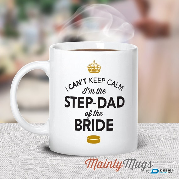 Wedding Gift For Step Dad : The Bride, Step Dad Wedding Mug, Brides Stepdad, Brides Stepdad Gift ...