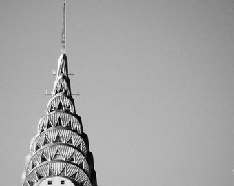 """Architecture Fine Art Photography, Black and White Photography, Empire State Building, NYC """"Empire"""""""