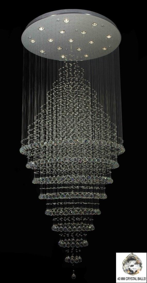 Swarovski Crystal Trimmed Chandelier Modern Contemporary Chandelier
