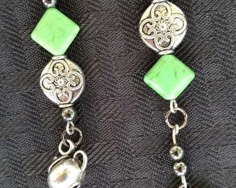 Teapot earrings