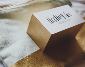 Ultra Thick Matte Business Cards