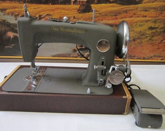 Vintage Free-Westinghouse Electric Sewing Machine Model-52F