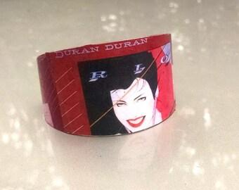Duran Duran RIo metal cuff bracelet