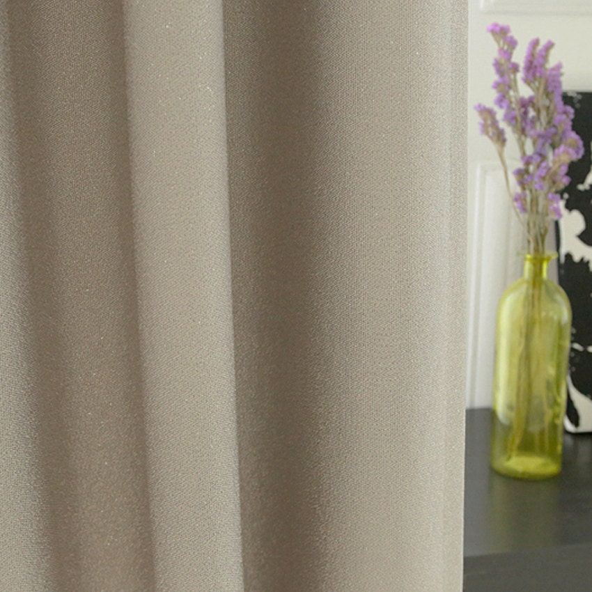 Silver Foil Accents Cream Blackout Curtain Drapery Nursery Curtains.  Gallery Photo Gallery Photo Gallery Photo Gallery Photo Gallery Photo