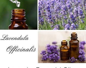 Lavender Essential Oil, Lavender Oil, 100% Pure Authentic Lavender Essential Oil