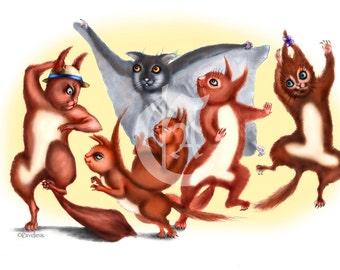 Troupe Squirrels